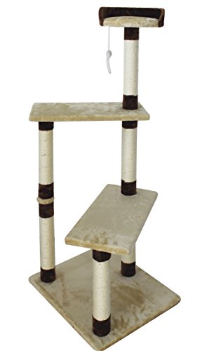 Croci Barcelona Cat Scratchers, 58 x 50 x 134 cm