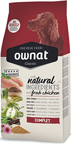 Ownat Classic Complet Alimento para Perros - 15000 gr