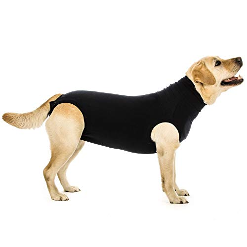 Suitical Recovery Suit Perro, L, Negro