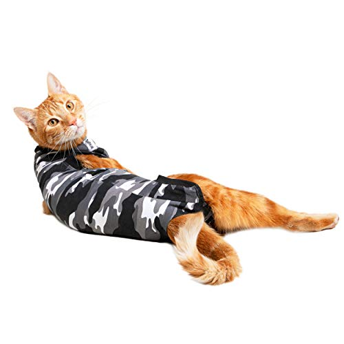 Suitical Recovery Suit Gato, XS - Camuflaje Negro